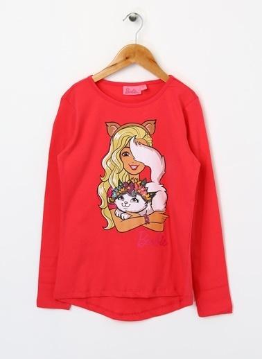 Barbie Tişört Kırmızı